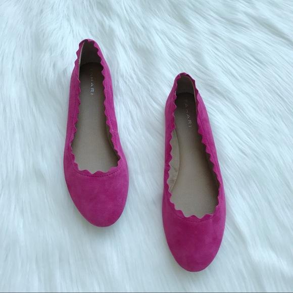 Tahari Shoes   Pink Winny Flats   Poshmark